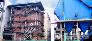 58mw cfb hot water boiler