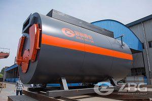 packaged gas oil boiler